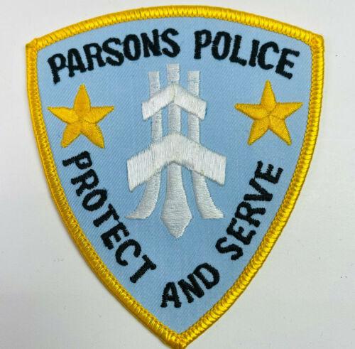 Parsons Police Labette County Kansas KS Patch