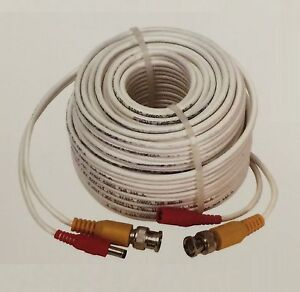 Q-See Original 100ft HD Security Camera Power Cable CCTV Video Extension Cable