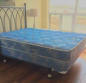 DOUBLE BED, FRAME & HEADBOARD
