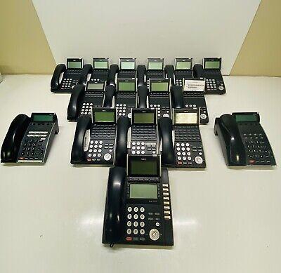 Lot Of 16 Assorted Nec Dt300 Series Dtl-8ld Dtl-12d Dtl-24d Telephone Phones