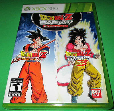 Dragon Ball Z: Budokai HD Collection Xbox 360 *Factory Sealed! *Free Shipping!