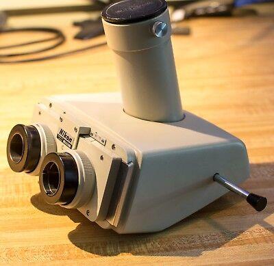 Nikon Biophot Trinocular Microscope Head