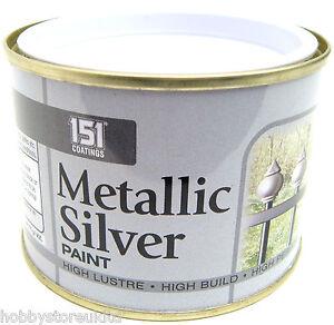 Metallic silver paint silver metallic paint metal paint for Peinture couleur argent pour bois