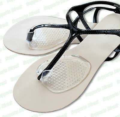 Gel Post Cushions Comfy Sandal Toe Protectors Silicone Pad Flip Flops Separator