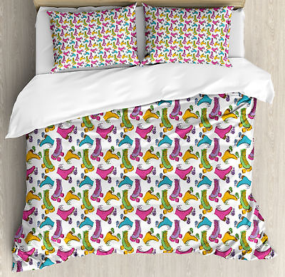 Teen Room Duvet Cover Set Twin Queen King Sizes with Pillow
