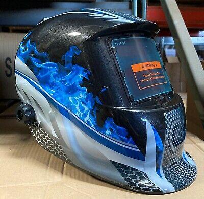 FMMT New Auto Darkening Welding Helmet ArcTig Mig Mask Grinding Welder Hood