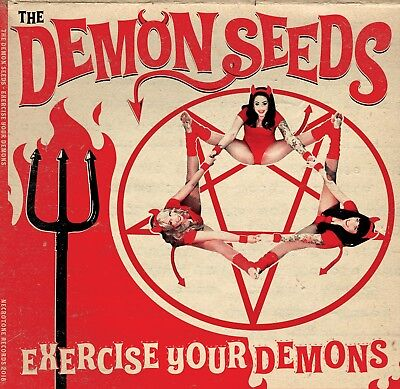 DEMON SEEDS LP Biker Fuzz Garage  Horror Surf Punk Halloween Back From The Grave