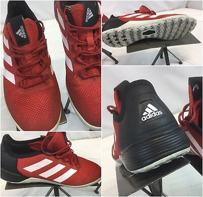 6c7f77f97 Adidas Ace Tango 17.2 Sz 6.5 Men Red Indoor Soccer Shoes Worn Once YGI  A9S-122