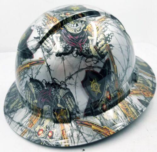 FULL BRIM Hard Hat custom hydro dipped , NEW DIRTY DIRTY HARRY NEW 2
