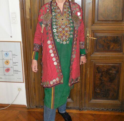 Complete Turkmen Lady Dress, antique