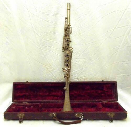 Vintage Metal Conn Cavalier Clarinet - Make an Offer!!