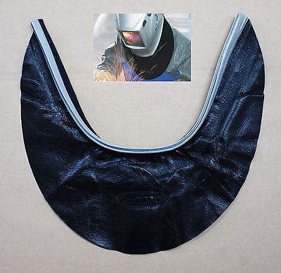 New HQ OTOS Leather Welding Helmet Neck Protector Cover Seal Hood Spatter