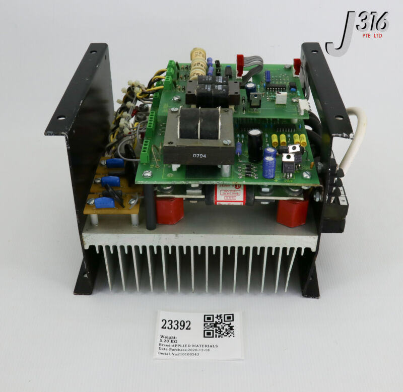 """23392 Applied Materials Phasetronics 8"""" Single Drive Ps W/o Cover 0015-09091"""