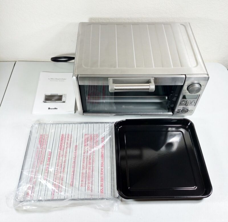 Breville the Mini Smart Oven Stainless Steel BOV450XL