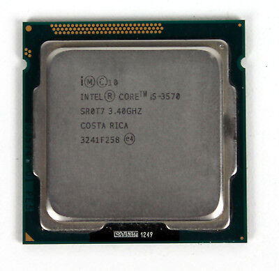 Intel Core i5-3570 3.4GHz Quad Core CPU Desktop Processor 6MB LGA1155 SR0T7