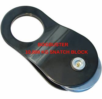 BOGBUSTER 10000 KG SNATCH BLOCK 4x4 OFF ROAD RECOVERY WINCH STRAP Beldon Joondalup Area Preview