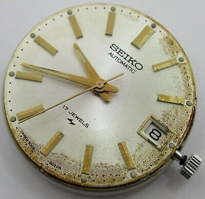 Seiko 7005 A Automatic Watch 17 Jewels Movement For Part ... - $50.00