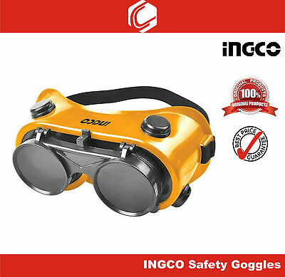 Used, Ingco Safety / Welding Goggles – Flip Design Easy to use  for sale  COIMBATORE CITY