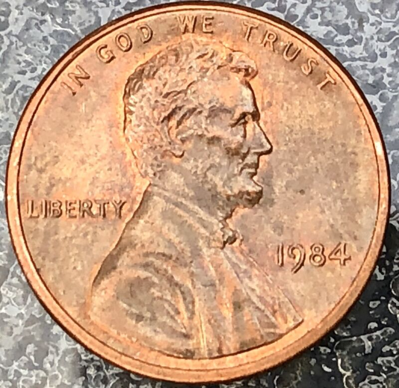 1984 P Lincoln Cent Penny Doubled Ear  DDO/DDR-001 (FS-101) Great Condition!
