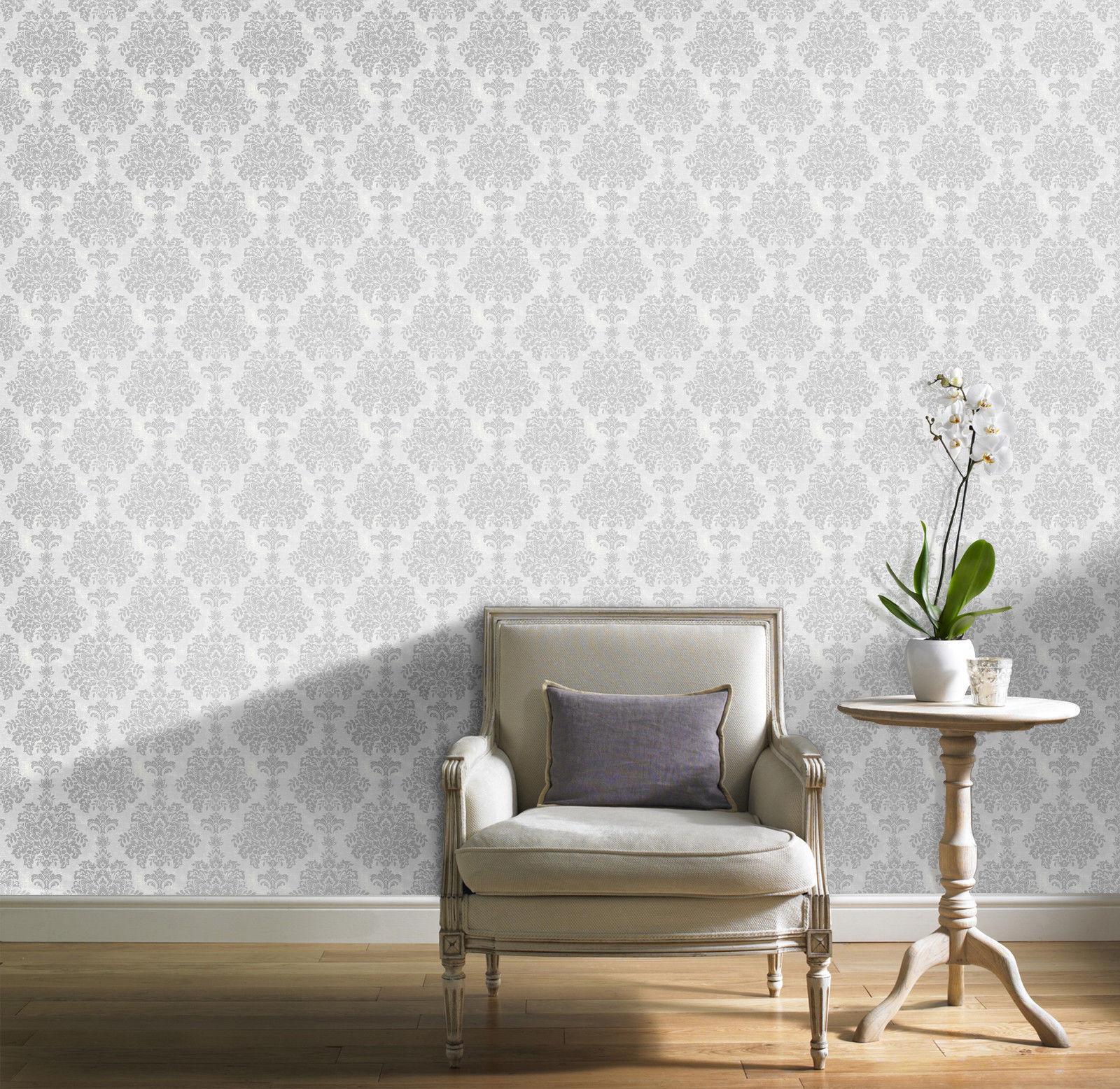 Luxus Fresco Damast / Mit Glitzer
