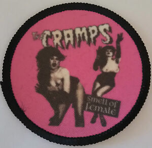 THE-CRAMPS-Patch-parche-smell-of-female-horror-postpunk-misfits-poison-ivy-psych