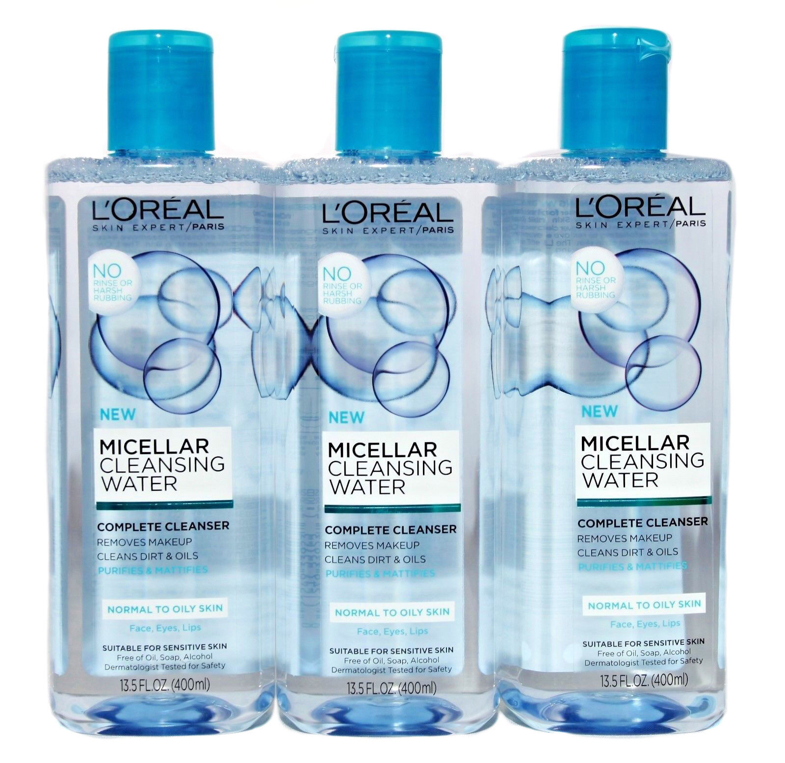 L'Oréal Paris Micellar Cleansing Water Normal to Oily Compl
