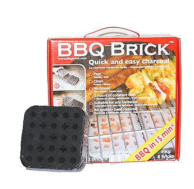***Ganz Neu**** BBQ Brick Grillzubehör Grillbedarf Holzkohle  4 kg ***Neuheit***