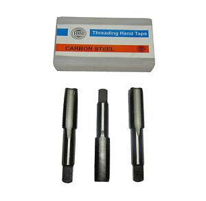 RDG-Tools-metrico-MASCHI-SINISTRORSO-filettatura-set-di-3-PRONTO-SECONDO-E
