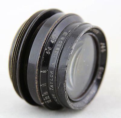 vintage lens Taylor Taylor & Hobson Ltd. Series II Cooke Anastigmat f4,5  6 inch