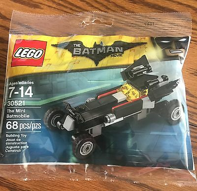 LEGO 30521 - The Batman Movie  The MINI BATMOBILE- NEW Polybag