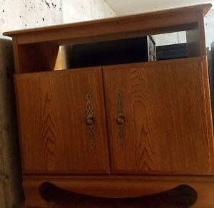 2 Solid wood bedside night table Cabinet one for 10