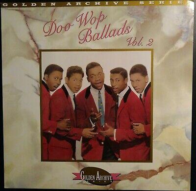 The Best of Doo Wop Ballads Vol.2  Rhino MINT