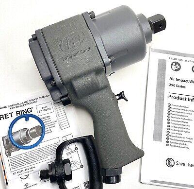Ingersoll Rand 290 Series 1 Pistol Grip Pneumatic Impact Wrench - Brand New