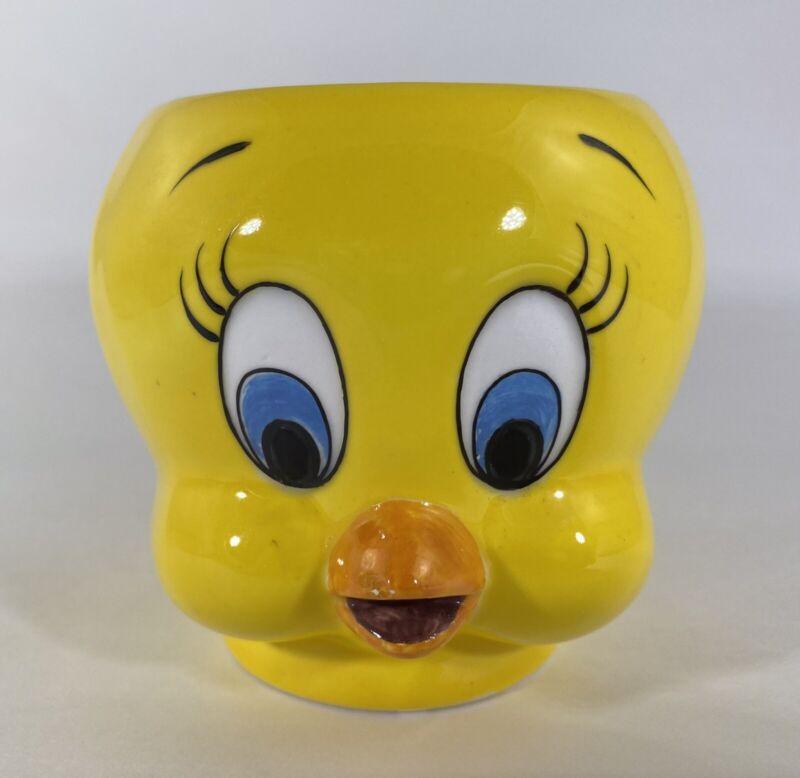 Applause Warner Bros Tweety Bird Ceramic Coffee Mug Looney Tunes 3D