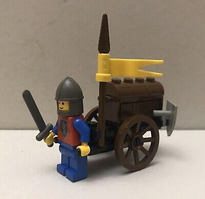 LEGO Set 1463 Crusader Treasure Cart, Complete, Vintage Castle Minifigure