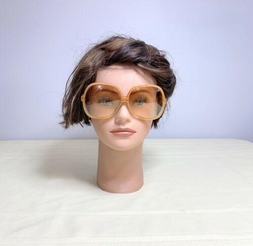 Vintage CV  Hand Made Oversized Sunglasses Italy