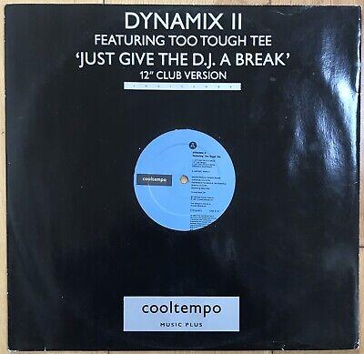"Dynamix II FeatToo Tough Tee – Just Give The DJ A Break 12"" Vinyl Old Skool VG"