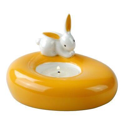 BUNNY DE LUXE Teelichthalter mit Hase aus Goebel Porzellan