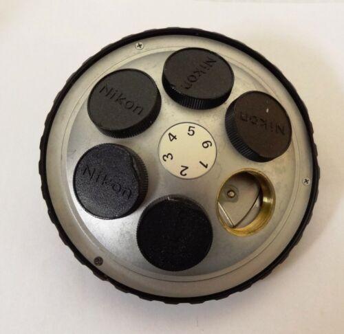 Nikon Microphot-FXA Microscope Intellegent 6-place Objective Turret