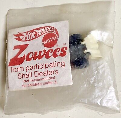 Covered Draggin Zowees Shell Gas Promo Sealed Pack Hot Wheels Redline Era 1970s