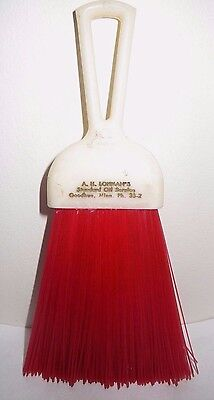 Vintage Auto Whisk brush Standard Oil Goodhue Mn Phone 35-2 A.H. Lohman
