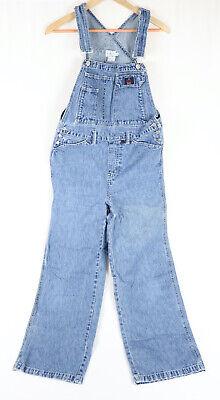 Womens Vintage 90s Calvin Klein CK Blue Denim Jeans Overalls Bibs Medium