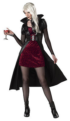 Sexy Gothic Vampire Blood Thirsty Beauty Adult Halloween Costume (Womens Gothic Halloween Costumes)