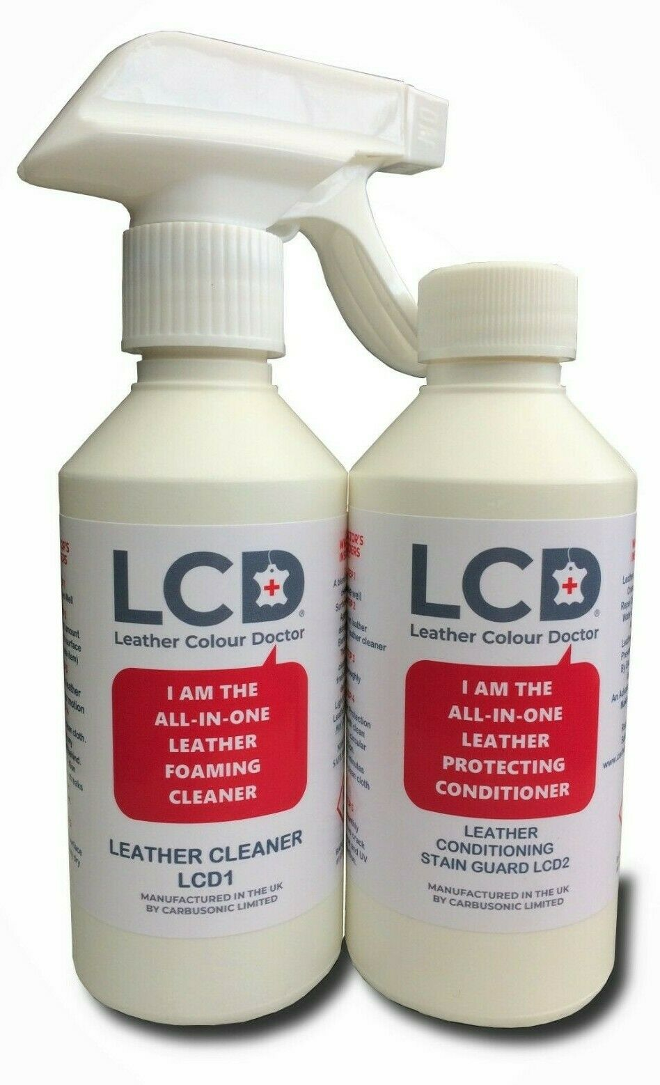 Leather cleaner conditioner with added stain guard & leather aroma High quality