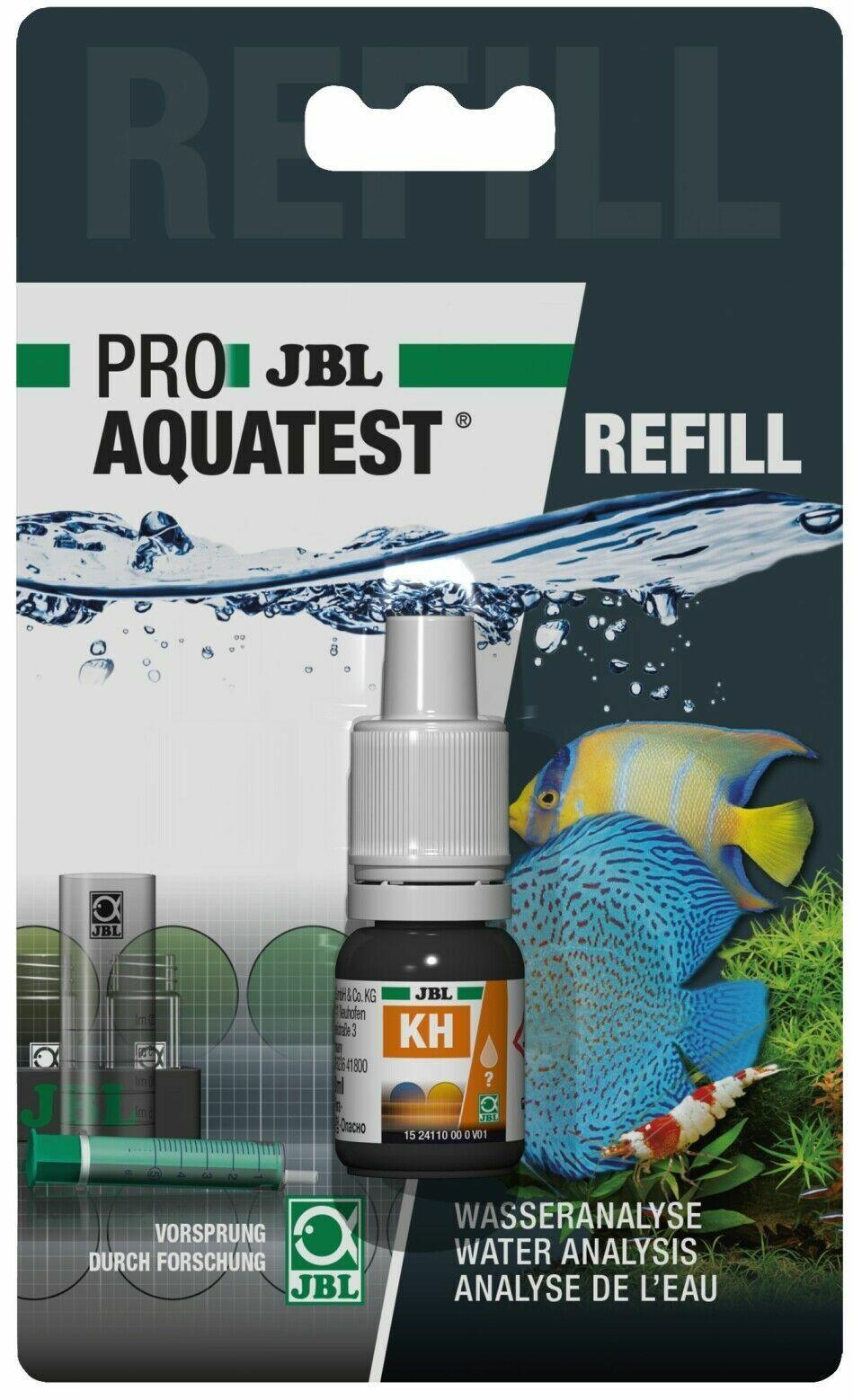 JBL KH Test Reagens (Refill) Wassertest Karbonathärte Aquarium + Teich   33627