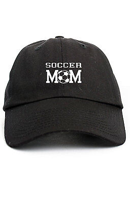 Soccer Mom Unstructured Dad Hat Adjustable Cap Multi Colors Brand New ()
