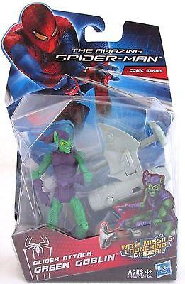 Amazing Spider Man Comic Series Green Goblin Glider Attack Marvel Universe Scale