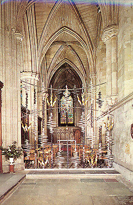 Vintage Postcard Chapel of the Holy Spirit, Ripon Cathedral, c. 1970
