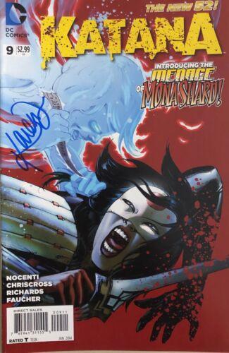 Suicide Squad Katana KAREN FUKUHARA SIGNED Comic Book - PROOF