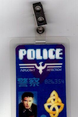 Blade Runner Id Badge-Police Replicant Detectition Rick Deckard Kostüm - Blade Runner Kostüm